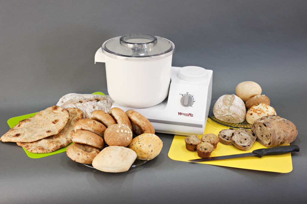 WonderMix mixer and Breads
